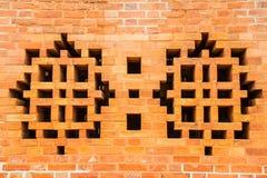 Vents brick wall Stock Photo