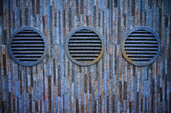 Vents on the wall Stock Photography