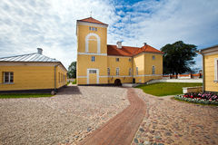 Ventspils Castle (German: Windau)  in Ventspils Stock Images