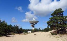 The Ventspils International Radio Astronomy Centre. Located near Baltic sea ,Latvia Stock Image