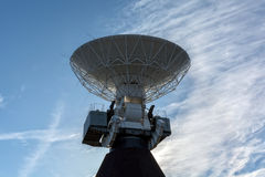 Ventspils, LV - MAY 6, 2017: Deep space radio telescope Royalty Free Stock Image