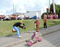 Ventspils town Festival, Latvia Royalty Free Stock Photos