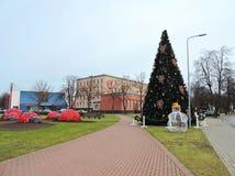 Ventspils town street , Latvia Royalty Free Stock Photo