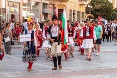 ventunesimo festival internazionale a Filippopoli, Bulgaria Immagine Stock