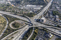 Ventura 134 autostrady Eagle skała Califoria Fotografia Stock