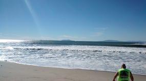 Ventura beach 2015. Ventura waves February 2015 Royalty Free Stock Photography