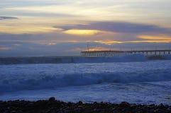 Ventura, Californië, Santa Barbara-kanaal stock afbeelding