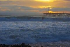Ventura, Californië, Santa Barbara-kanaal royalty-vrije stock foto