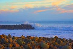 Ventura, Californië, Santa Barbara-kanaal stock foto's