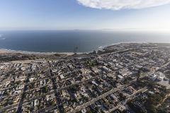 Ventura California Aerial Photographie stock