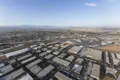 Ventura California Industrial Park Aerial stock fotografie