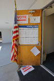 Ventura County, California Citizens Turn Out to Vote Stock Photo
