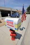 Ventura County, California Citizens Turn Out to Vote Royalty Free Stock Photos