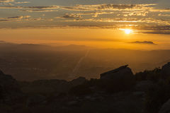 Ventura County California Sunset Royalty Free Stock Photos