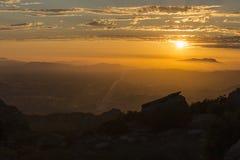 Ventura County California Sunset Royalty Free Stock Photos