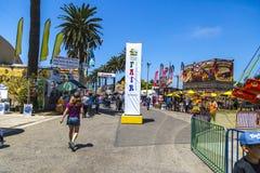 Ventura County Fair Midway Fotografering för Bildbyråer