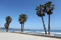 Ventura het Plein van het Strand stock foto's