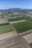 Ventura okręg administracyjny Uprawia ziemię antenę Zdjęcie Royalty Free
