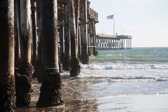 Ventura Pier. City of San Buenaventura in South California Royalty Free Stock Photography