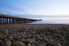 Ventura Pier. Historic Ventura pier in Southern California Stock Photo