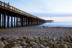 Ventura Pier. Historic Ventura pier in Southern California Stock Photography