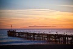 Ventura-Pier Stockbild