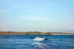Ventura Wooden Pier photographie stock libre de droits