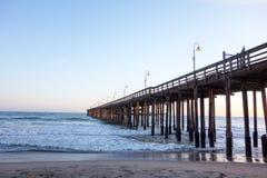 Ventura Wooden Pier, CA images libres de droits