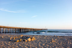 Ventura Wooden Pier Royalty Free Stock Image