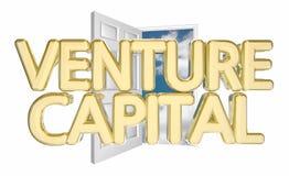 Venture Capital Door Opening Royalty Free Stock Images