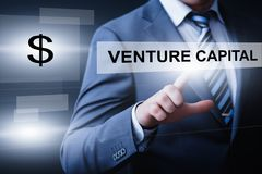 Venture Capital Investment Start-up Funding Business Technology Internet Concept.  Royalty Free Stock Photography