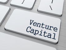 Venture Capital on Keyboard Button. Royalty Free Stock Image