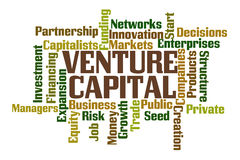 Venture Capital royalty free illustration