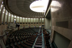 Venue of the Polish government Stock Photos