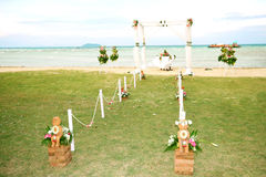 venuebröllop fotografering för bildbyråer