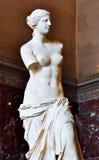 Venus. Statue of Venus from the Louvre Museum Stock Image