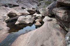 Free Venus Baths, Rock Formation Shaped By River In Halls Gap, Grampians, Victoria, Australia Stock Image - 115227301