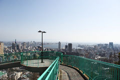 Venus Bridge and the Kobe town's view Royalty Free Stock Image