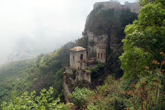 Venus Castle at Erice, Sicily, Italy Royalty Free Stock Photos