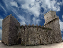 Venus Castle at Erice, Sicily, Italy Royalty Free Stock Image