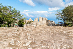 Venus Castle, the Norman Castle of Erice, Sicily, Italy Royalty Free Stock Photo