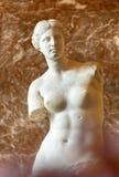Venus de Milo au musée de Louvre Image libre de droits