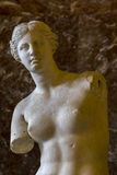Venus de Milo dans le Louvre photo stock