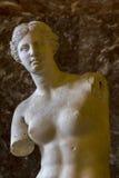 Venus de Milo i Louvre Arkivfoto