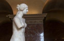 Venus de Milo Louvre, Paris, Frankrike Royaltyfri Fotografi