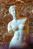 Venus de Milo på Louvremuseet Arkivbilder