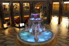 Venus Fort Water Fountain Images libres de droits