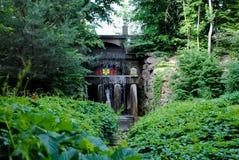 Venus Grotto en el parque Sofiyivka fotografía de archivo libre de regalías