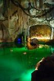Venus Grotto i den Linderhof slotten i Tyskland Fotografering för Bildbyråer