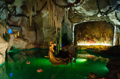 The Venus Grotto in the Linderhof Palace in Germany Stock Image